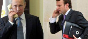 Putin Macron ile Dağlık Karabağ'ın neyini görüştüler