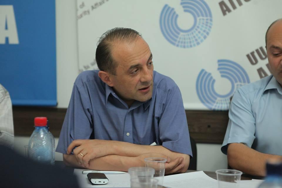 Ruben H Mehrabyan: Դաշնակցությունը դարձյալ անելիք չունի․ Ավետիս Հարությունյան