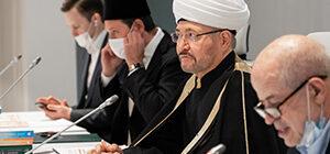 Выступление муфтия Гайнутдина на презентации книжной серии «Ал-ислах ва-т-тадждид» − «Возрождение и обновление»