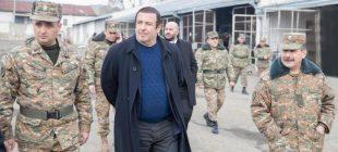 Tsarukyan gönüllü müfreze kuruyor
