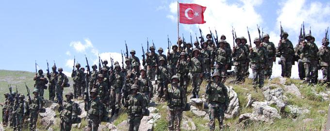 Türkiye savaş istemiyor ancak  tehdit altında olduğunda buna sert cevap verir