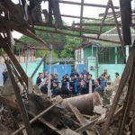 Nagorno-Karabakh: BBC visits Azerbaijan's side of frontline