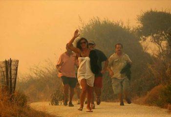 Yunanistan ormanları Fetöcü askerleri kaçırmak için Amerikalılarca kundaklandı!